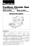 Makita 5680DWB Specifications