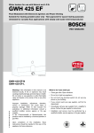 Bosch GWH 425 EF Specifications