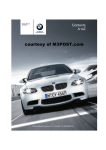 BMW E92 Owner`s manual