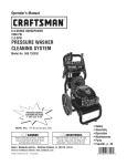 Craftsman 580/752352 Operator`s manual