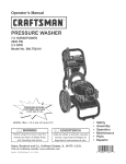 Craftsman 580.752410 Operator`s manual