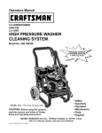 Craftsman 580.768350 Operating instructions