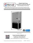 Marvair HVPA60 Service manual