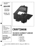 Craftsman 113.244510 Specifications