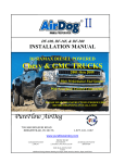 Amer WAP123N Installation manual