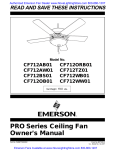 Emerson CF712OB01 Owner`s manual