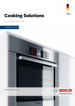 Bosch PCT915B9TA Product specifications