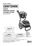 Craftsman 580.752131 Operator`s manual