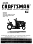 Craftsman 917.259170 Owner`s manual