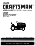 Sears Craftsman 917.257720 Specifications