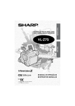 Sharp VL-Z7S Specifications