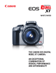 Canon EOS-1D - Digital Camera SLR Specifications