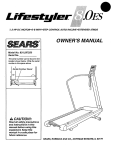 Sears Lifestyler 142.288040 Owner`s manual