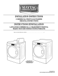 Maytag MHN30PNAGW Specifications
