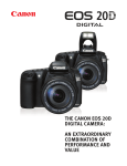 Camera EOS 20D Digital Specifications