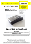 Apple GPT-4378-FLASH-70-iBT Operating instructions