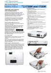 Epson EB-1730W User manual