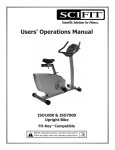 SCIFIT ISO1000 Operating instructions