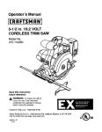 Craftsman 315.114260 Operator`s manual