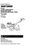 Craftsman 917.293202 Owner`s manual