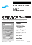 Samsung SV-510X Service manual
