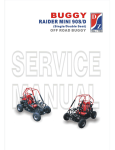Dazon Raider mini 90D Service manual