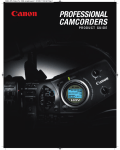 Canon 3089A002 - ZR 1000 Remote Control Product guide