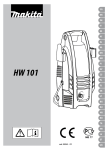 Makita HW 101 Technical information