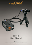 sinaCam HDC1-D User manual