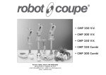 Robot Coupe CMP 300 V.V. Specifications