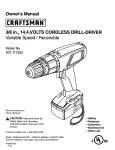 Craftsman 973.111350 Operating instructions