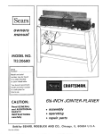 Craftsman 113.20680 Operating instructions