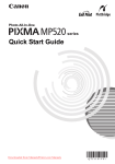 Canon PIXMA MP520 Technical information