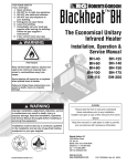 Radiant BH55ST Service manual