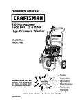 Craftsman 919.679180 Owner`s manual