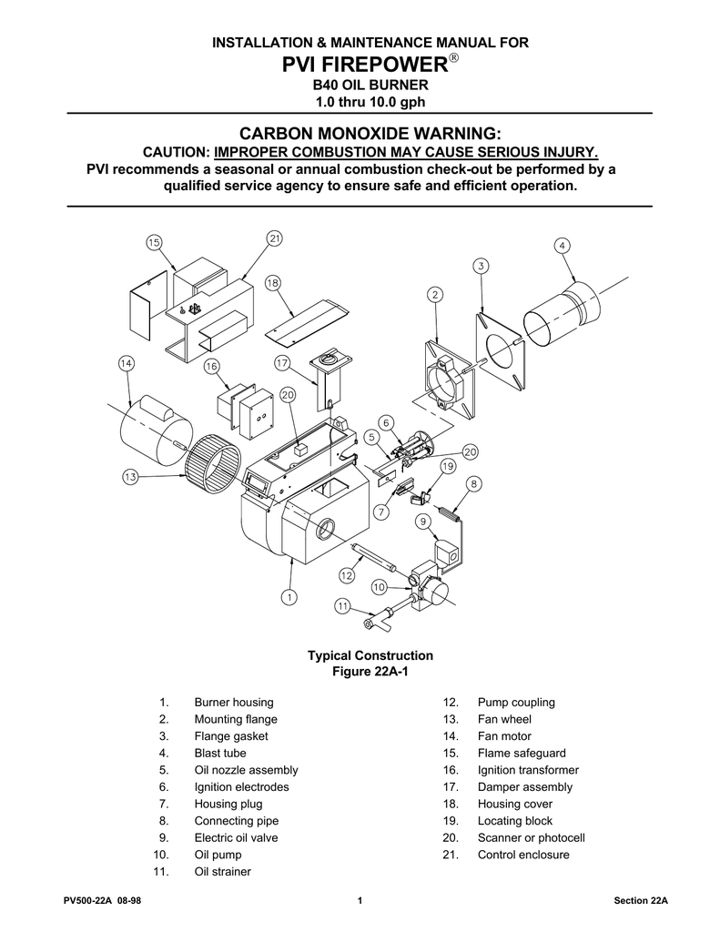 pvi firepower rh manualzilla com PVI Water Heaters Instantaneous Condensing Boiler