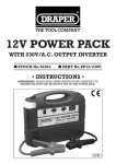 12V POWER PACK