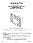 United States Stove 30A Owner`s manual