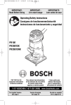 Bosch PR20EVSNK Specifications
