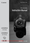 Canon LEGRIA HFM46 Instruction manual