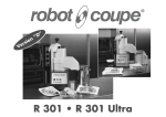 Robot Coupe R 301 Ultra Specifications