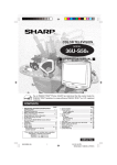 Sharp 36U-S50B Specifications