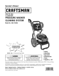 Craftsman 580.752052 Operator`s manual