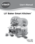 VTech Alphabet Soup User`s manual