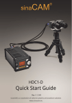 sinaCam HDC1-D Specifications