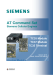 Siemens TC35 Terminal Specifications