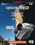 Canon Optura 200MC Specifications