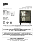 Cecilware BK-44 Specifications