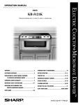 Sharp KB-5121K Installation manual
