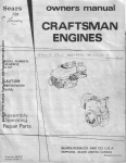 `CRAFTSMAN ENGINES